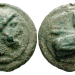 Aes Grave As with bearded head of Janus