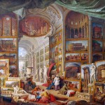 Giovanni Paolo Pannini, Gallery of Views of Ancient Rome, 1758, oil on canvas