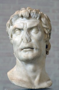 "So-called ""Sulla"", free copy after a portrait of an important Roman from the 2nd century BC, Munich, Glyptothek"