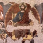 Pietro Cavallini, Judge Christ with Angels from the Last Judgment (detail), basilica di Santa Cecilia in Trastevere