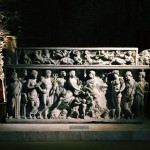 Marble sarcophagus representing Dionysus and Ariadne, Aula X, Museo Nazionale Romano alle Terme di Diocleziano