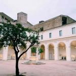 The recently restored Chiostro piccolo della Certosa di Santa Maria degli Angeli