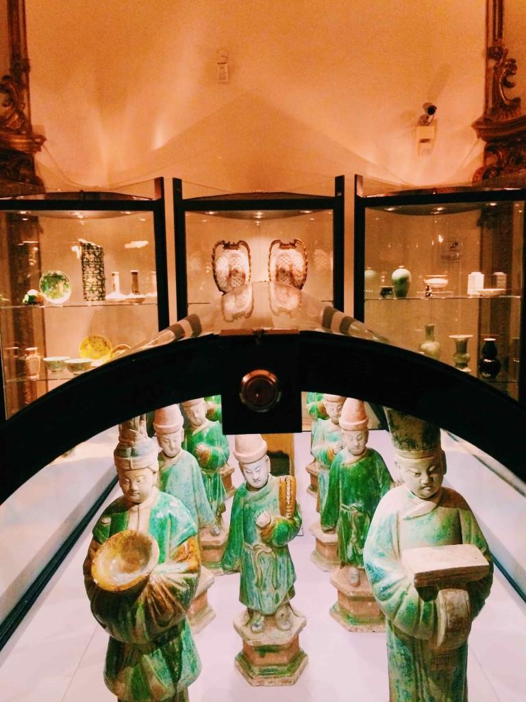 "Funeral procession, Ming pottery, Museo Nazionale d'Arte Orientale ""Giuseppe Tucci"", Rome"
