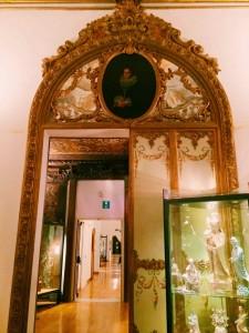 Antechamber of the Brancaccio princes' alcove room, Museo Nazionale d'Arte Orientale