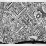 Robert Adam, Giovanni Battista Piranesi, Map of Campus Martius, 1762, etching