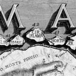 Giovanni Battista Piranesi, Plan of Rome (Pianta di Roma), detail, 1756, etching