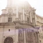 """Francesco Borromini, Bernardo Castelli Borromini, façade of the chiesa di San Carlo alle Quattro Fontane, also called """"San Carlino"""""""