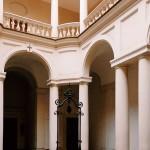 Francesco Borromini, cloister of San Carlo alle Quattro Fontane complex