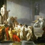 Vincenzo Camuccini, The death of Caesar (La morte di Cesare), 1804 - 1805, Rome, GNAM
