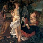 Michelangelo Merisi da Caravaggio, Rest on the Flight into Egypt, Sala Aldobrandini, Palazzo Doria Pamphilj, Rome