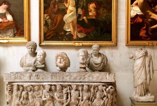 Detail of Sala Aldobrandini, Palazzo Doria Pamphilj, Rome