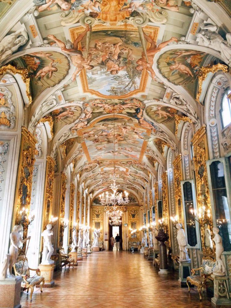 Galleria degli Specchi, 2nd wing, Palazzo Doria Pamphilj, Rome