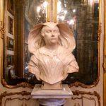 Alessandro Algardi from Bologna, Portrait of Olimpia Maidalchini Pamphilj (Viterbo, 1591 – San Martino al Cimino, 1657), mid-17th century, marble, Galleria Doria, 4th wing, Palazzo Doria Pamphilj, Rome