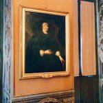 Jodocus van Hamme (Woerden ca. 1603 - Paris 1655) (attr.), Portrait of Olimpia Maidalchini, Il casino delle delizie a Ripagrande, first room towards via del Corso, Palazzo Doria Pamphilj, Rome.