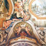 Ceiling of Galleria degli Specchi, 2nd wing, Palazzo Doria Pamphilj, Rome