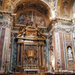 Interior of the Pauline chapel at the basilica di Santa Maria Maggiore, Rome
