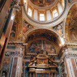 Interior of the Pauline chapel at the basilica di Santa Maria Maggiore, Rome