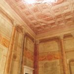 """Sala del Concistoro o delle Battaglie, belonging to the monumental halls visited during the tour by night of Palazzo Venezia in Rome, guided by the museum director Sonia Martone, on the occasion of """"Il giardino ritrovato"""" initiative on 2016 summer nights"""