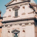Giacomo Della Porta, façade of Santa Maria ai Monti, travertine, begun in 1580