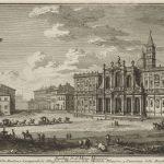 Giuseppe Vasi (1710–1782), The Piazza and Church of Santa Maria Maggiore, 1747
