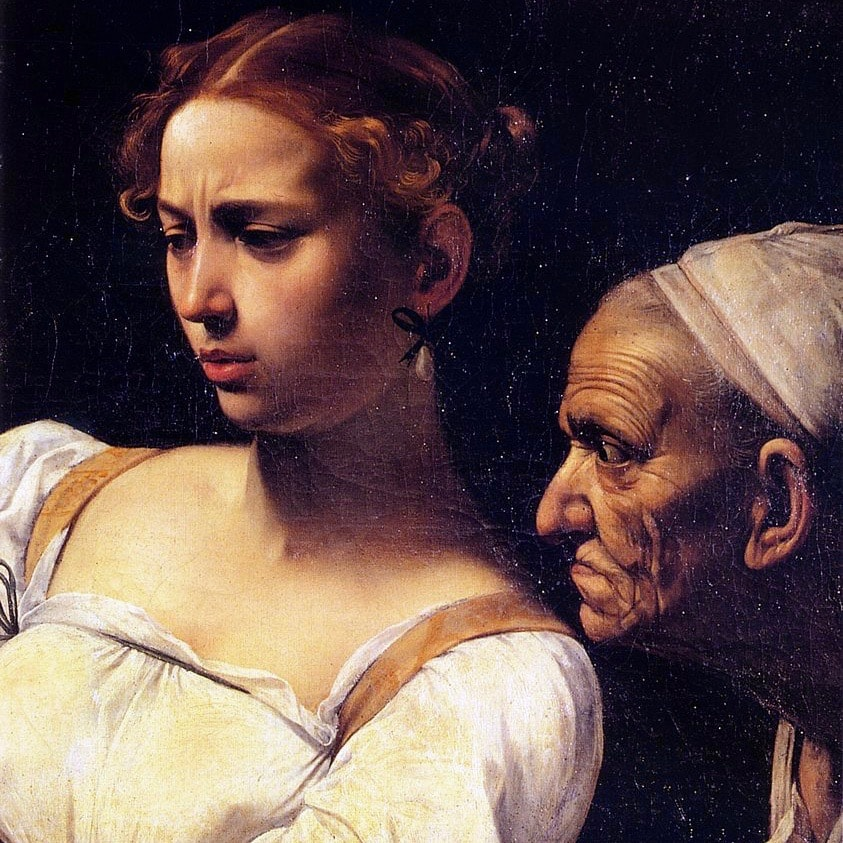 Michelangelo Merisi da Caravaggio, Judith Beheading Holofernes (detail)