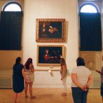 The small group of visitors guided by Caterina Panetta of Through Eternity, Rome, Galleria Nazionale d'Arte Antica a Palazzo Barberini