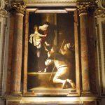 Michelangelo Merisi da Caravaggio, Madonna di Loreto or Madonna dei Pellegrini, ca. 1604–1606