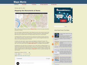 Maps Mania