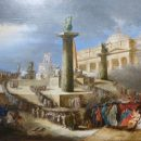 Felice Giani (1758-1823), Altare patrio a piazza San Pietro per la Festa della Federazione