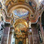 Interior of the chiesa di Santa Maria Maddalena, Rome