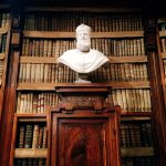 Gaspare Sibilla, marble bust depicting cardinal Egidio Colonna, 18th century, Biblioteca Angelica, Rome