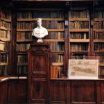 Interior of the Biblioteca Angelica, Rome