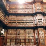 "Left wall of the ""vaso"" at the Biblioteca Angelica, Rome"