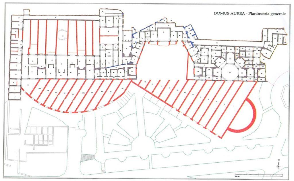 Domus Aurea plan
