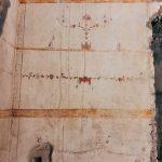 Detail of a mural decoration, 1st century AD, Domus Aurea, Rome