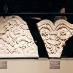 Marble balustrade fragments from the Colosseum