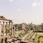 View of the Roman Forum, today