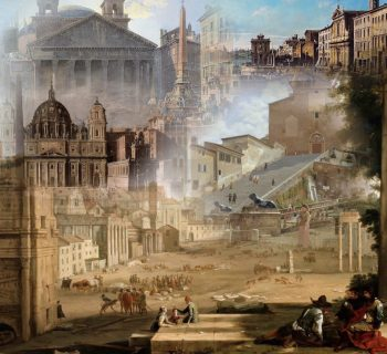Rome, artists' supreme muse yesterday and today for #cityMW
