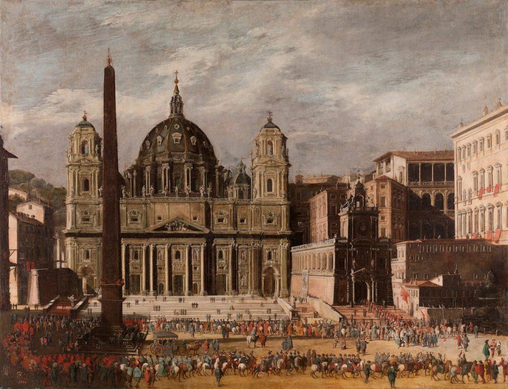 Viviano Codazzi, Basilica di San Pietro
