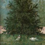 Frescoes from the Villa of Livia, second half of the 1st century BC, Rome, Museo Nazionale Romano di Palazzo Massimo