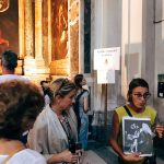 "The visit guided by Roma Experience during the ""Restoring Caravaggio - A VIP Rome Tour Experience"" on the 1st August 2018, Rome, chiesa di San Luigi dei Francesi, Contarelli chapel"