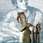 "Official poster of ""Winckelmann. Capolavori diffusi nei Musei Vaticani"" exhibition at the Vatican Museums"