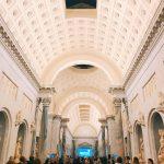 """The inauguration of """"Winckelmann. Capolavori diffusi nei Musei Vaticani"""" exhibition at the Vatican Museums, Braccio Nuovo, 8 November 2018"""