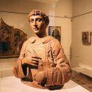 Donato di Niccolò di Betto (Donatello), San Lorenzo, terracotta bust (62 x 47 x 74.5) cm, c. 1440, Kathleen Onorato Peter Silverman collection