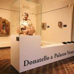 Donato di Niccolò di Betto (Donatello), San Lorenzo, terracotta bust (62 x 47 x 74.5) cm, c. 1440, Kathleen Onorato Peter Silverman collection, temporary on display at Museo Nazionale Palazzo di Venezia