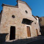 Façade of Pieve di San Lorenzo, Borgo San Lorenzo (Mugello), Italy