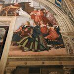 Raffaello Sanzio and helpers, The Mass at Bolsena (detail), Stanza di Eliodoro, fresco painting, ca. 1512, Vatican Museums