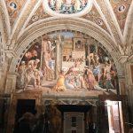 Raffaello Sanzio and helpers, Fire in the Borgo, Stanza dell'Incendio di Borgo, fresco painting, ca. 1514, Vatican Museums
