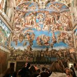 The Sistine Chapel in the evening, Vatican Museums