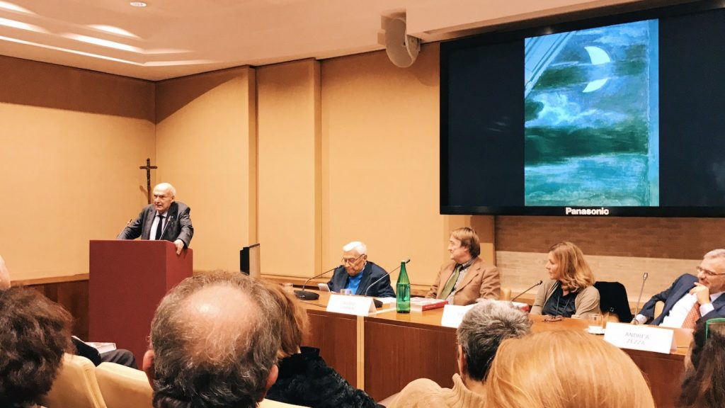 "The speech of Antonio Paolucci on the occasion of the ""Raffaello a Roma. Restauri e ricerche"" book presentation at the Vatican Museums, Sala Conferenze, 13 November 2018"